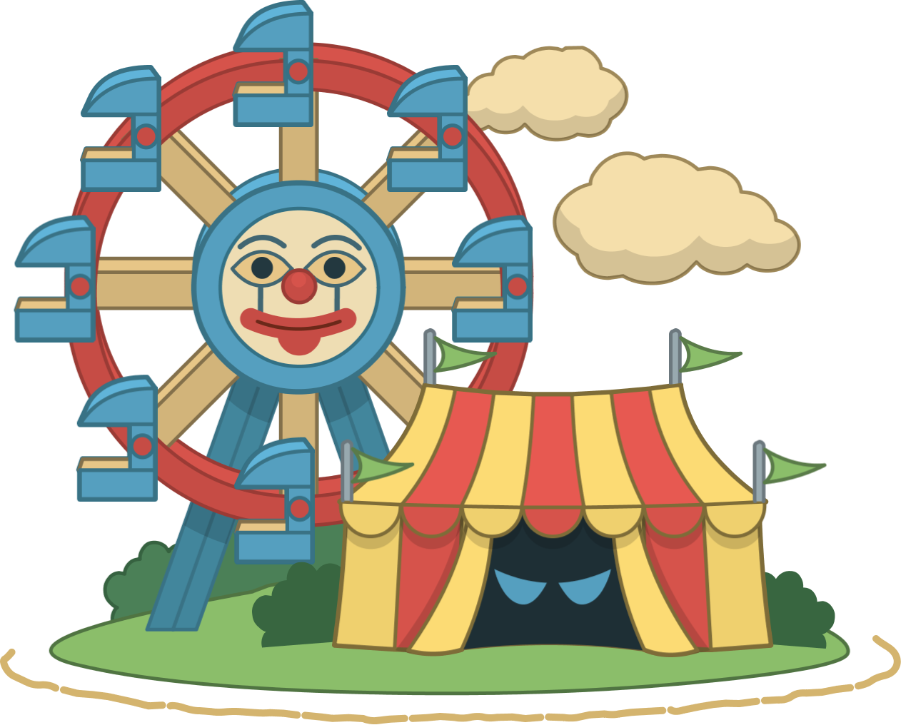 Monster carnival poptropica wiki. Evidence clipart mystery tour