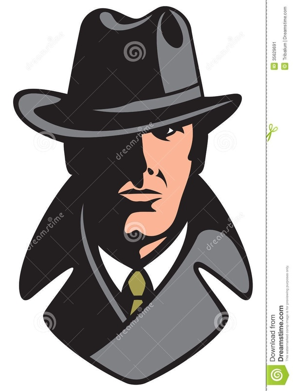 What do cops think. Evidence clipart private eye
