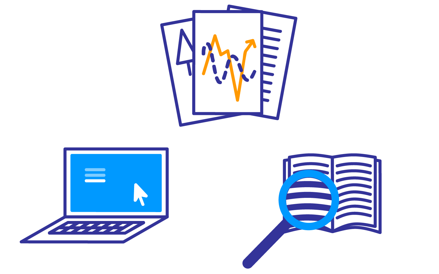 Project and planning top. Evidence clipart problem identification