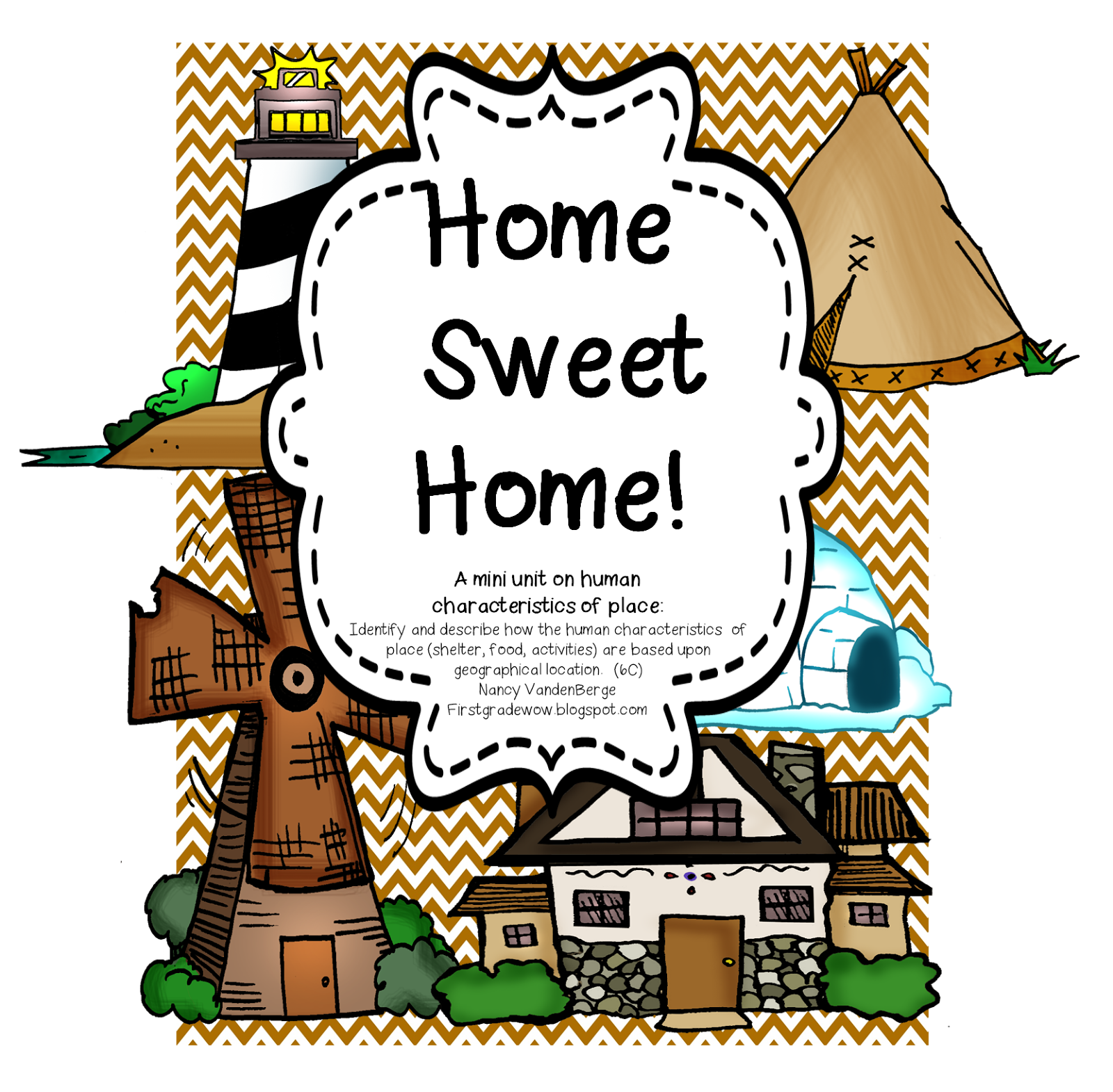 Home sweet human characteristics. Geography clipart student activity