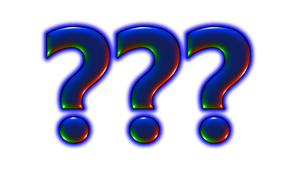 Is it worthwhile to. Evidence clipart question mark