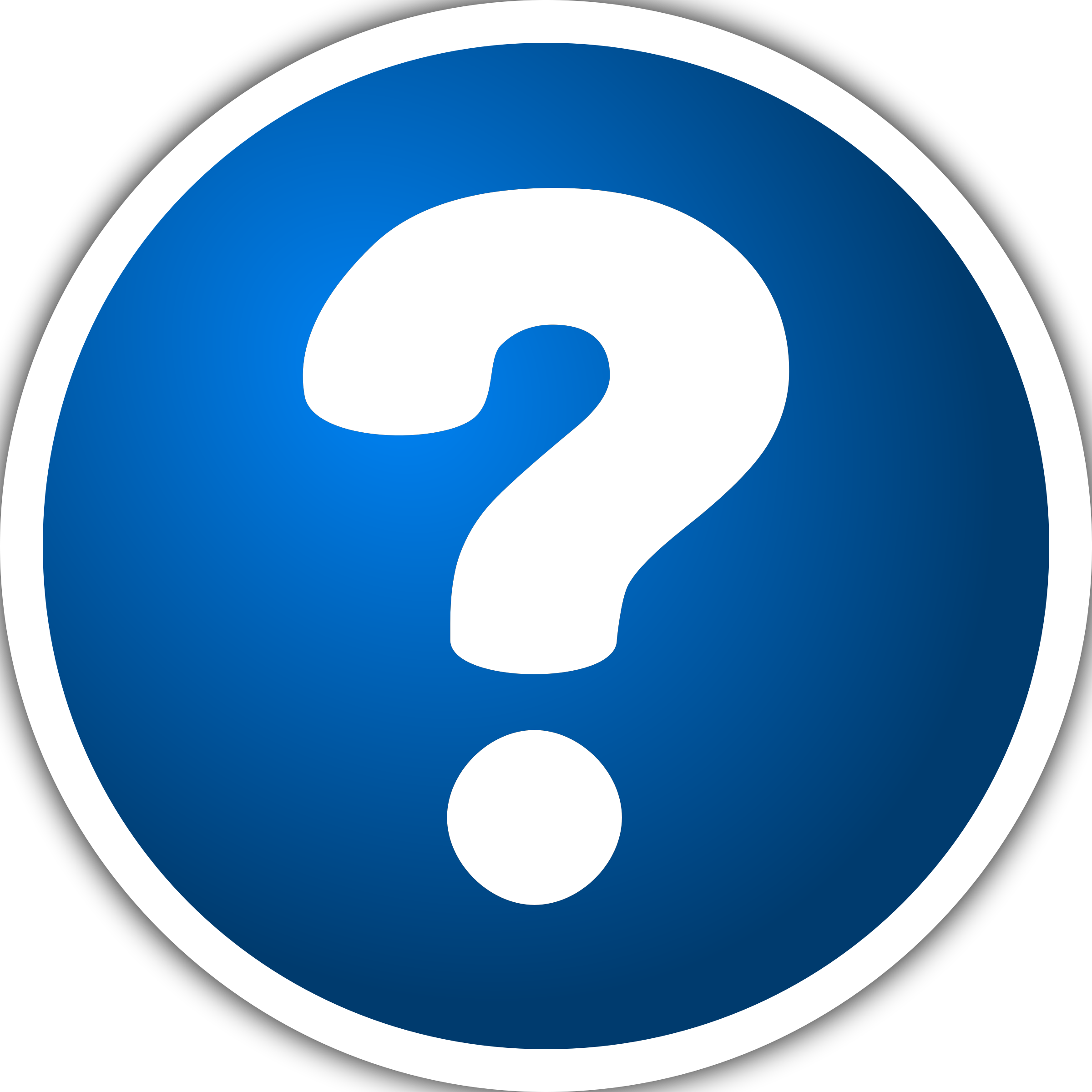 Frequently asked questions rame. Evidence clipart question mark