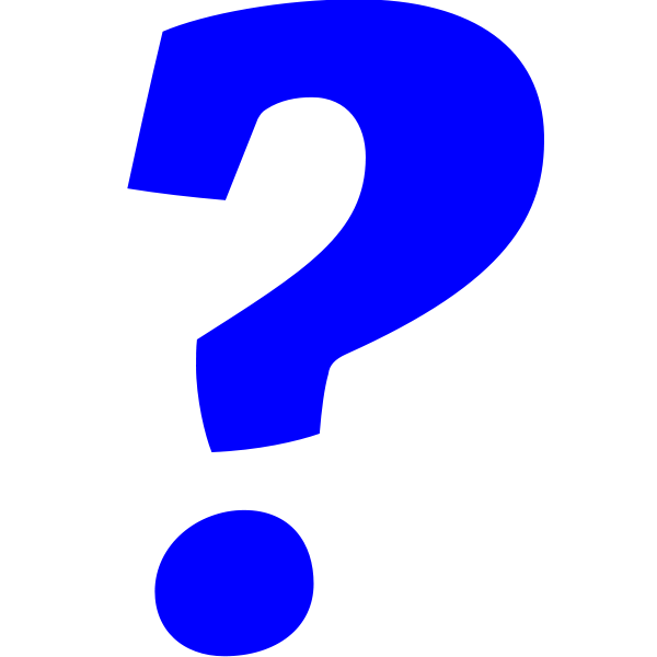May intramuralist questions. Evidence clipart question mark