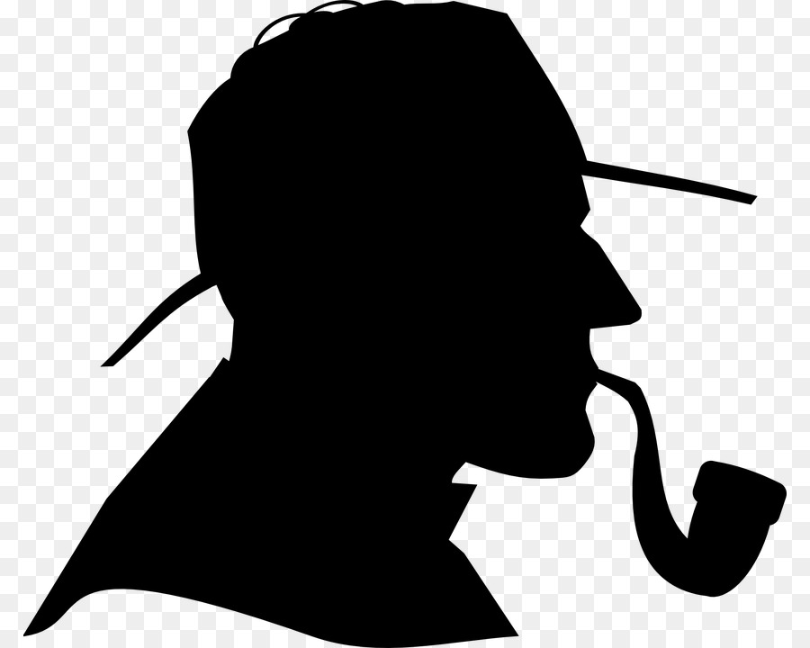 Evidence clipart sherlock homes. Free holmes silhouette download