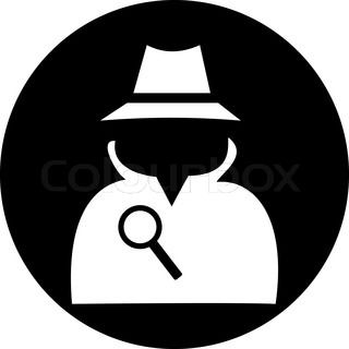 Image result for silhouette. Evidence clipart spy kid
