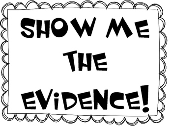 Evidence clipart textual evidence. Citing sentence starters worksheets