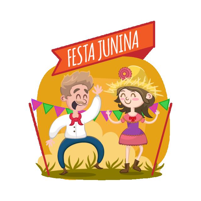 Festa junina vector illustration. Farmers clipart farmer clothes