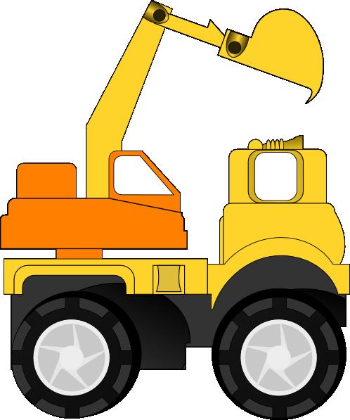 Clip art at clker. Excavator clipart