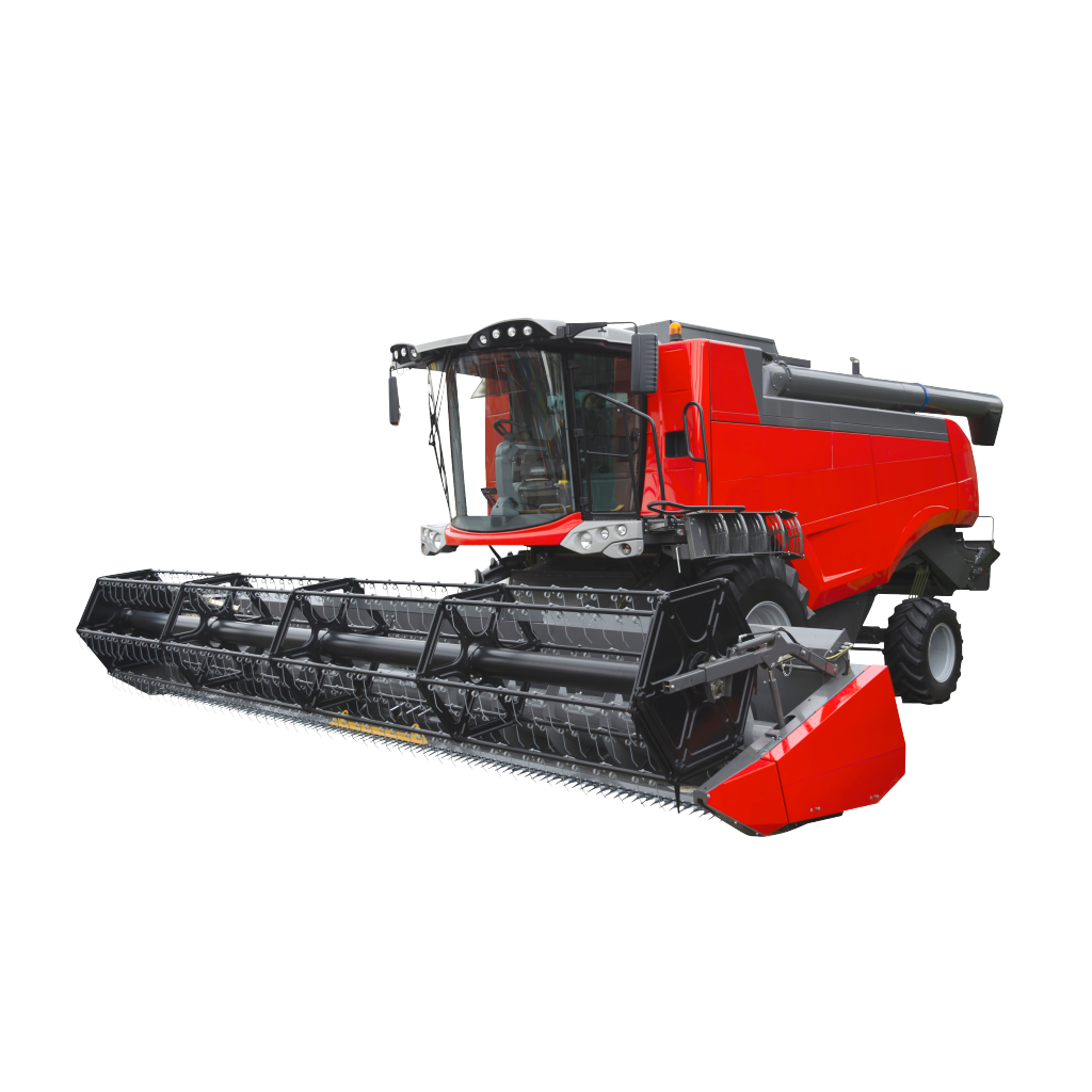 Farming and agriculture combine. Excavator clipart backhoe case