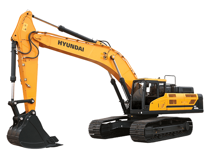 Excavator clipart building equipment. Hx l hyundai construction