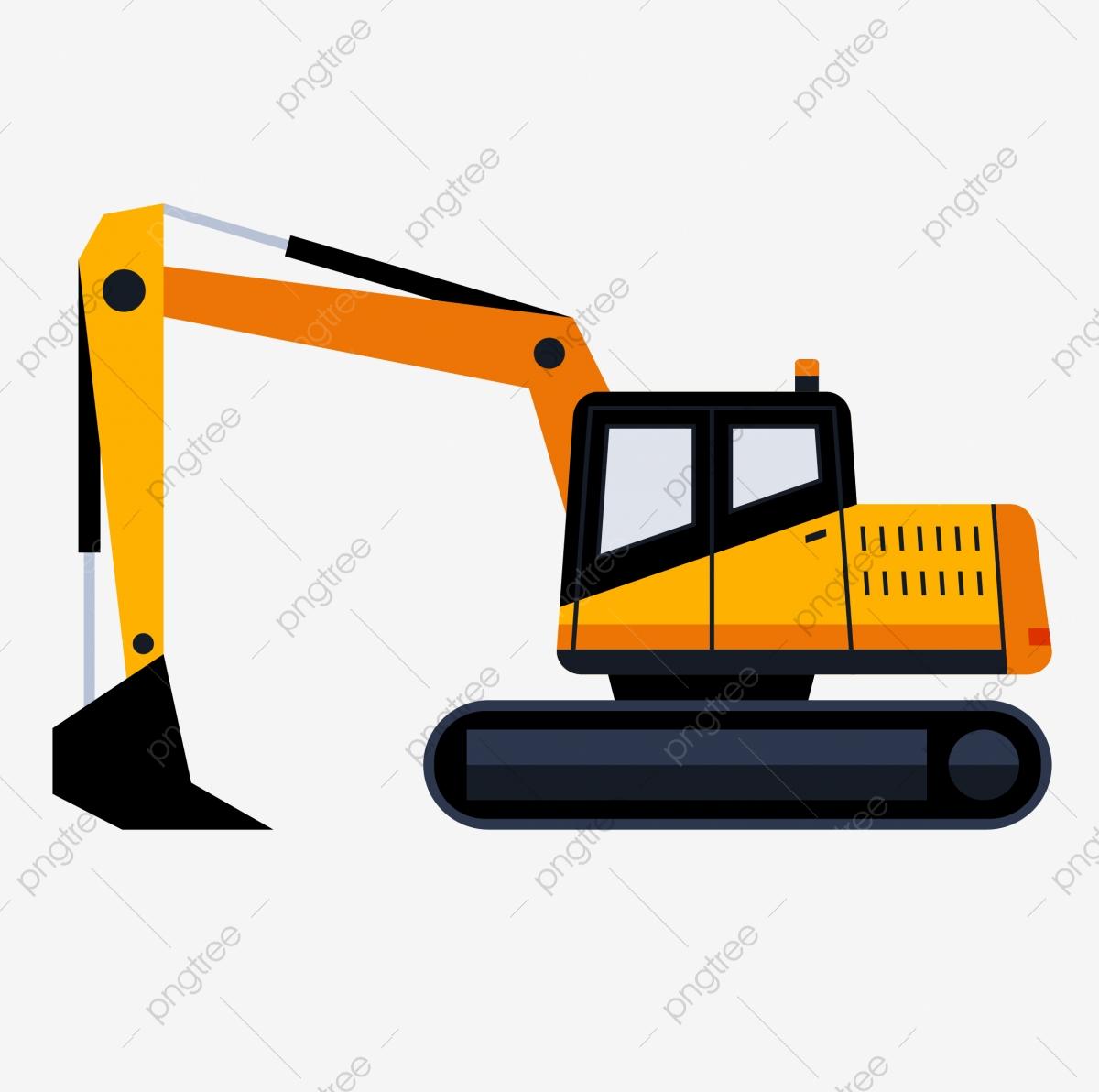 Crane site construction vehicle. Excavator clipart building equipment