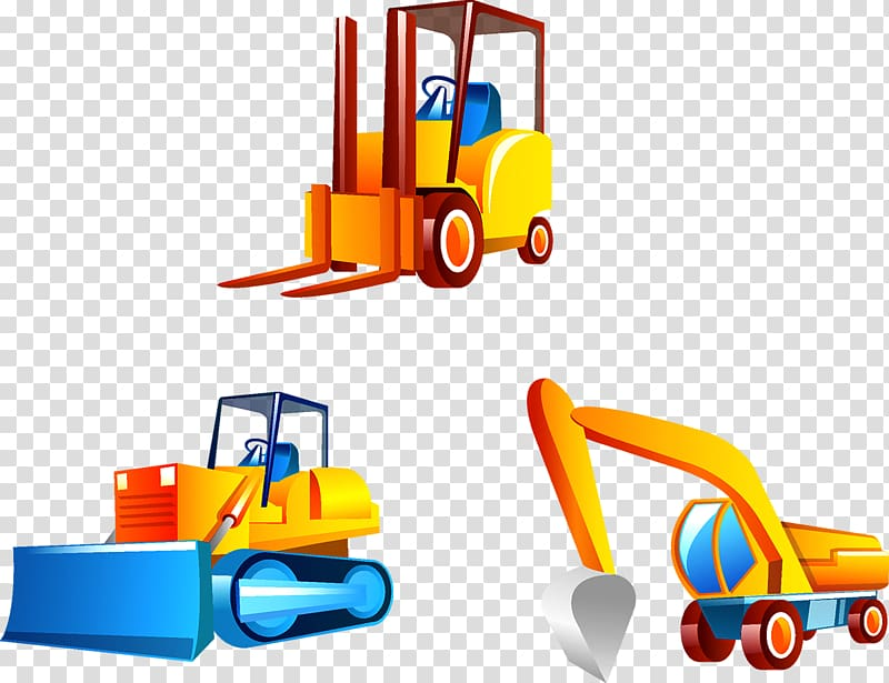 Vehicle sturgis library forklift. Excavator clipart car