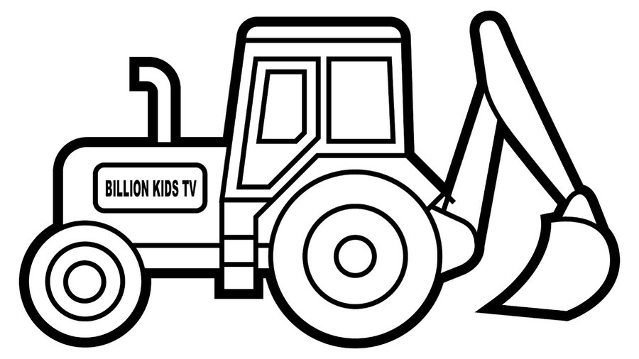 Download pages caterpillar inc. Excavator clipart coloring book