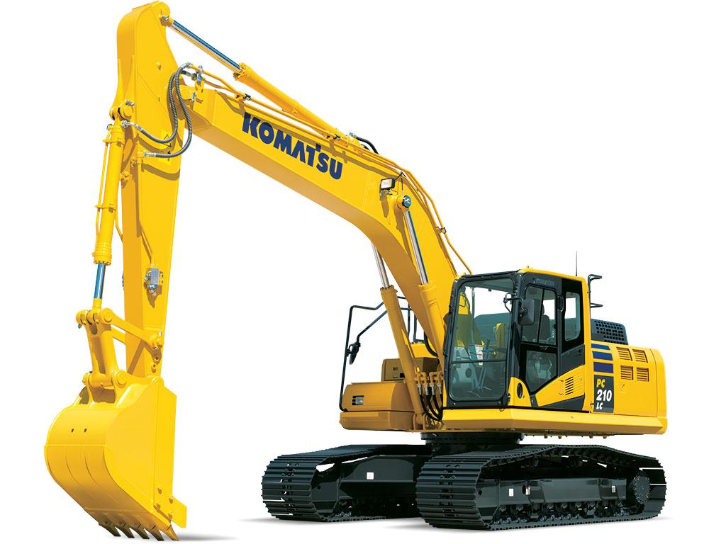 Excavator clipart construction machinery. Excavators komatsu america corp