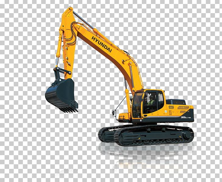 Excavator clipart crawler. Heavy machinery continuous track