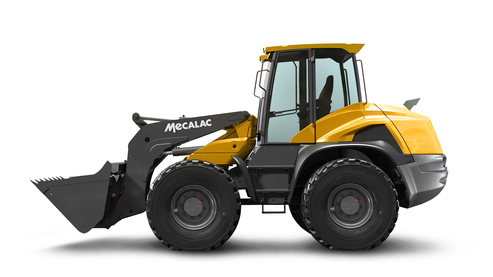 Excavator clipart crawler. Swing loaders mecalac as