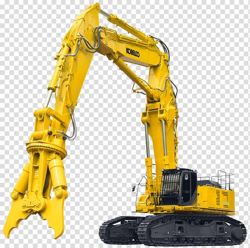 Heavy machinery kobelco training. Excavator clipart demolition