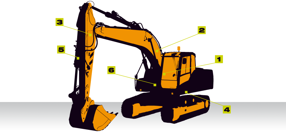 Excavator clipart digger. Weighing systems for vei