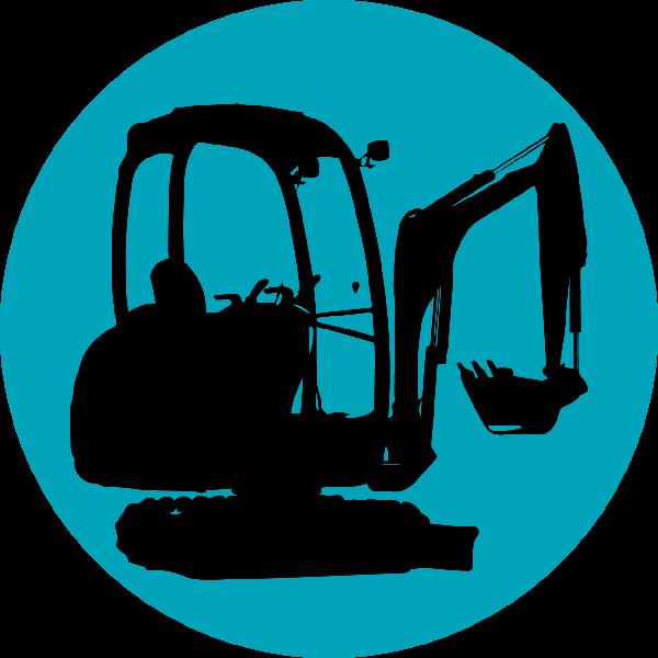 Excavator clipart digger jcb. Minidigger x png mini