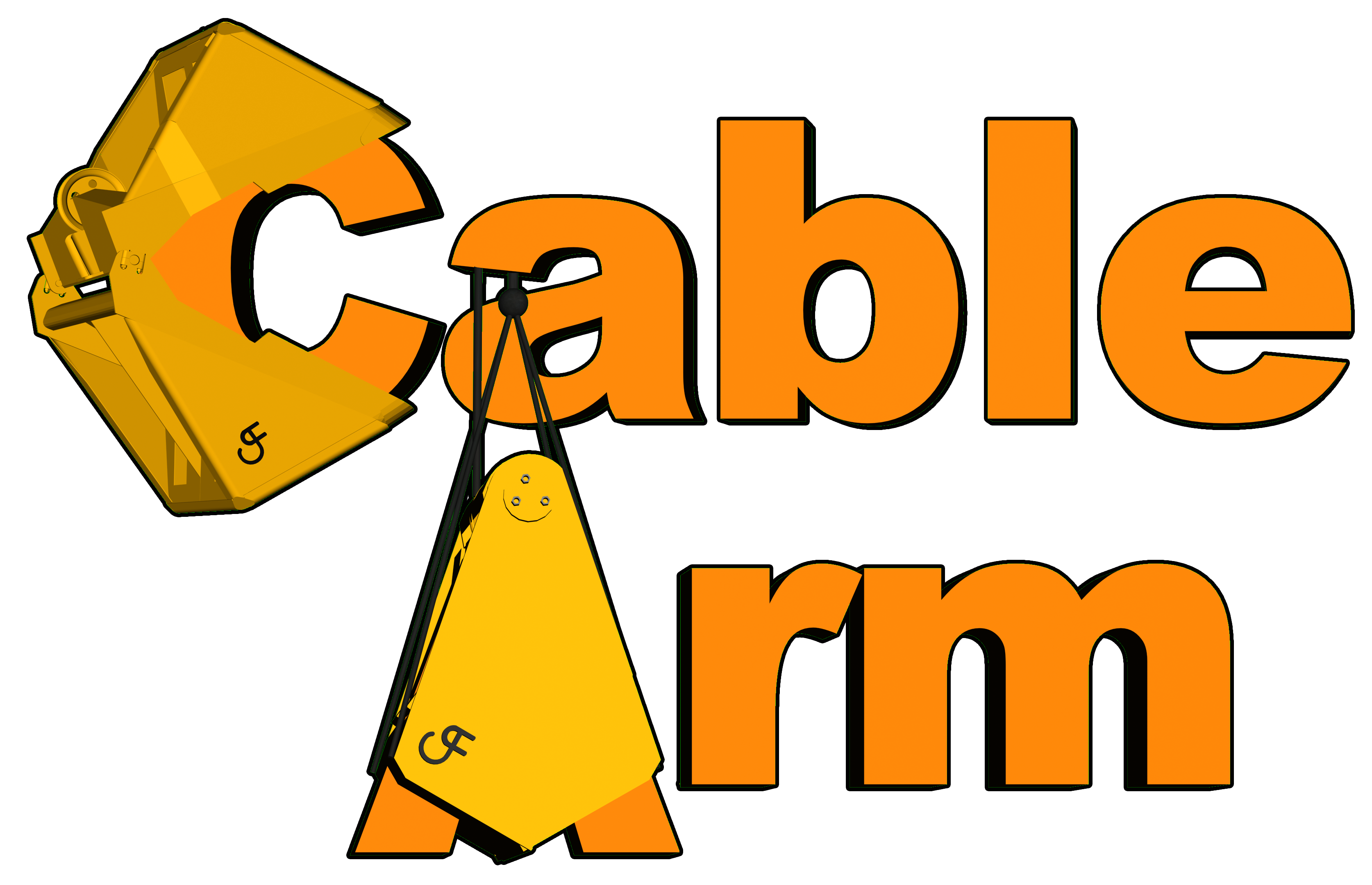 Excavator clipart dredging. Cable arm media positioning