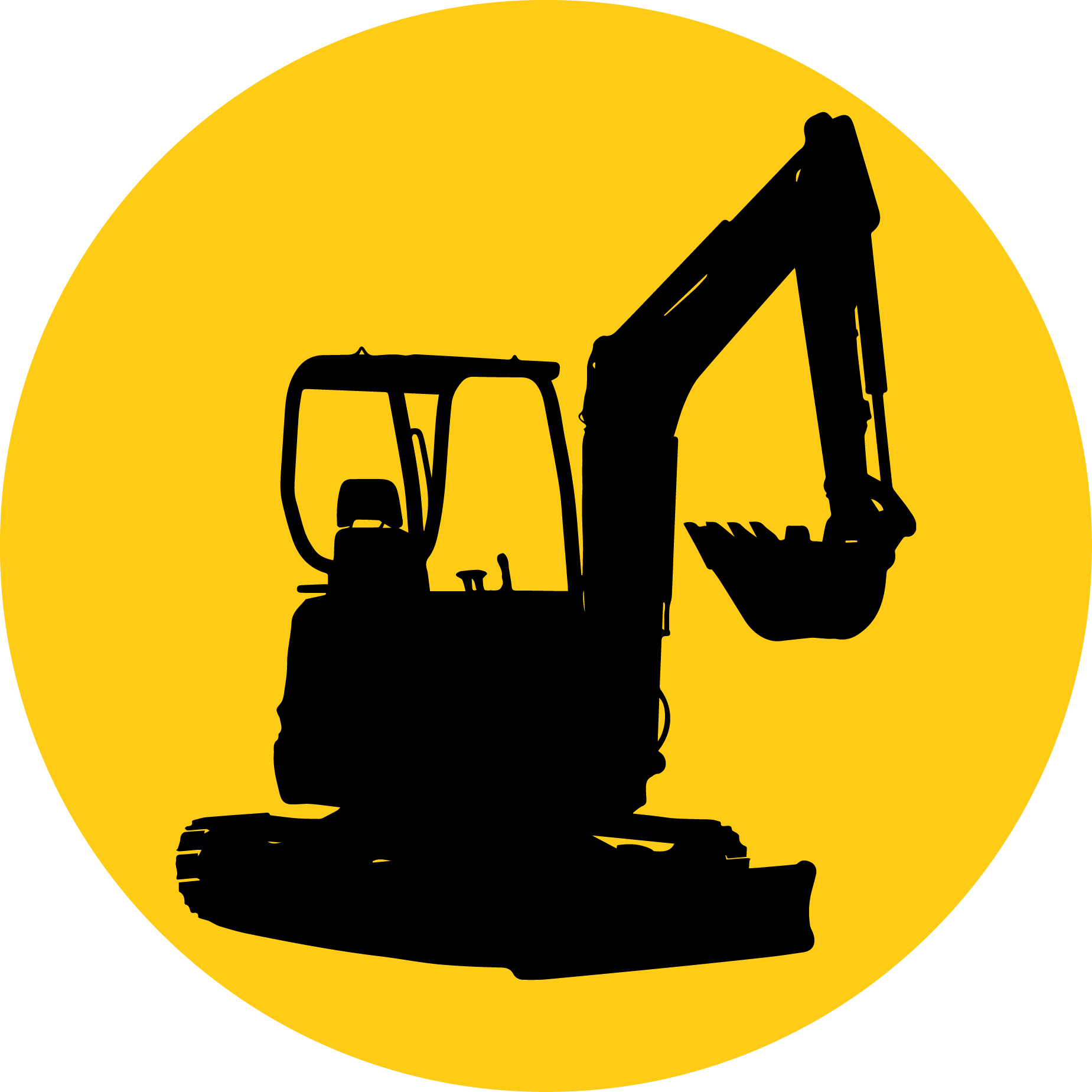Excavator clipart excavator bobcat. Compact kubota corporation architectural