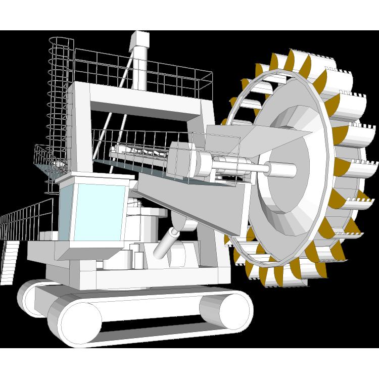 Excavator clipart excavator bucket. Wheel wear parts cutting