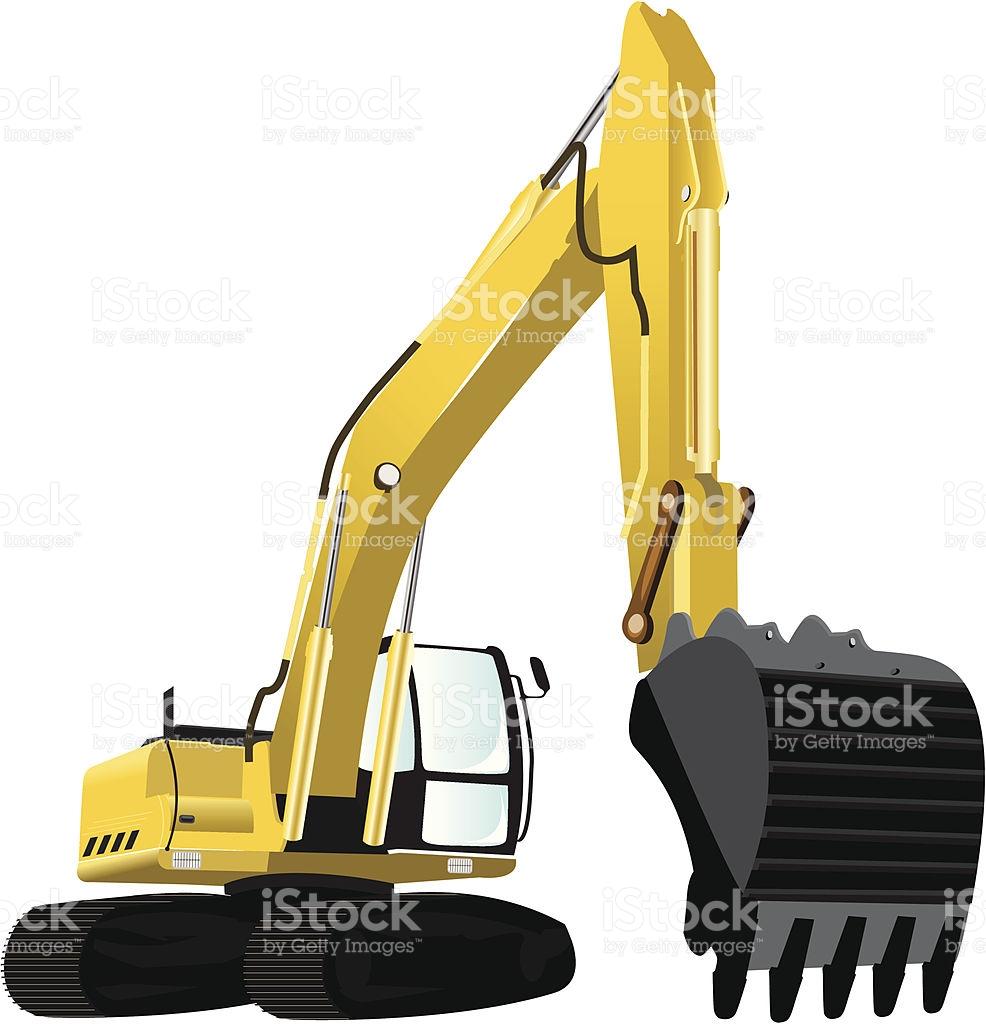 Excavator clipart excavator bucket. Cat free download best