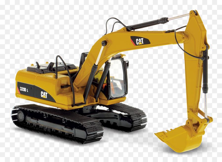 Excavator clipart excavator caterpillar. Cartoon bulldozer