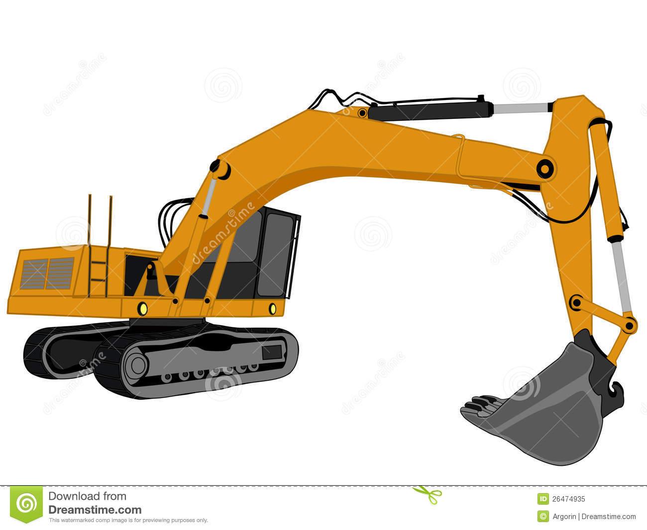 Excavator clipart excavator caterpillar. Cat free download best