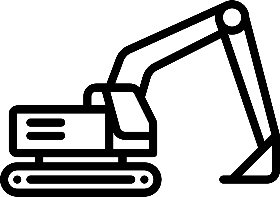 Svg png icon free. Excavator clipart file