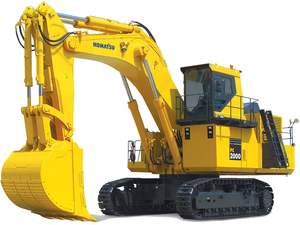 Excavator clipart front end loader. Excavators komatsu america corp