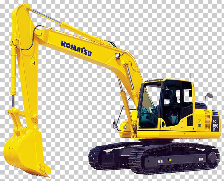 Excavator clipart heavy equipment. Komatsu limited caterpillar inc