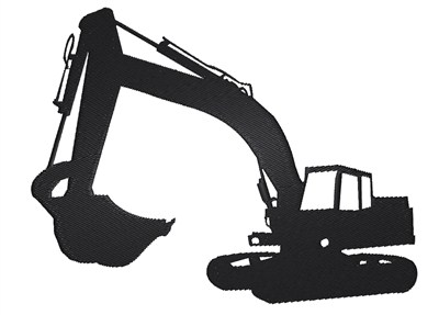 Free download of icons. Excavator clipart icon