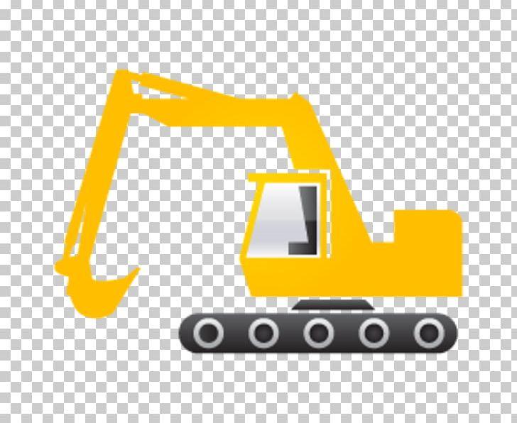 Caterpillar inc heavy equipment. Excavator clipart icon