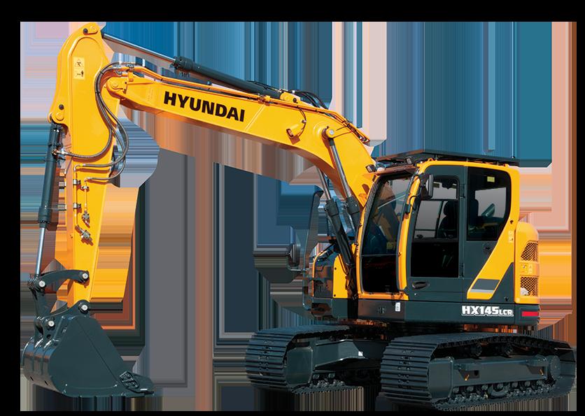 Excavator clipart mini excavator. Hx lcr hyundai construction