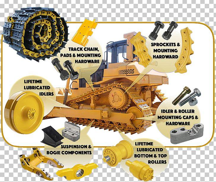 Bulldozer caterpillar inc heavy. Excavator clipart mounted