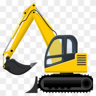 Free png clip art. Excavator clipart plant machinery