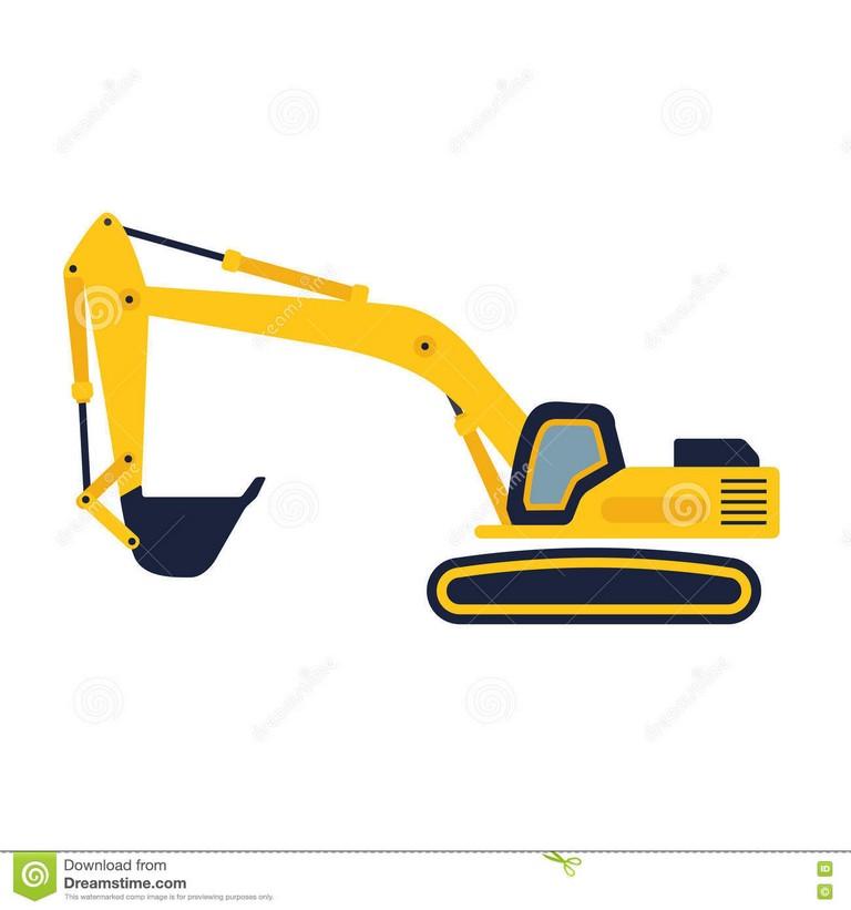 Cat free download best. Excavator clipart shovel