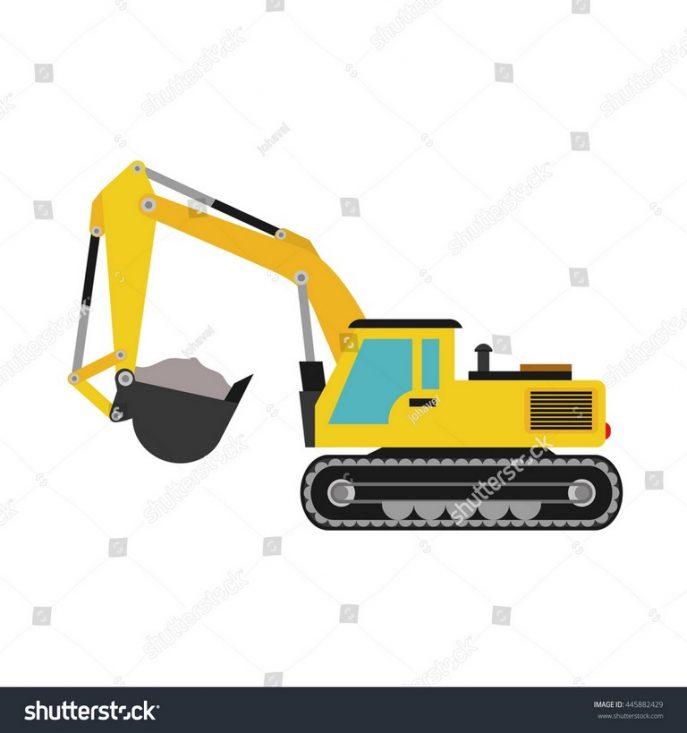 Excavator clipart shovel. Cat free download best
