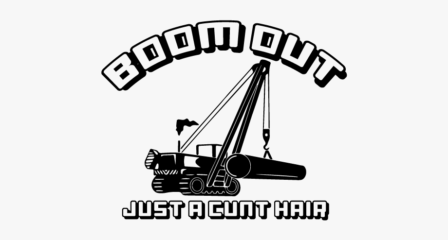Out just a cunt. Excavator clipart side boom