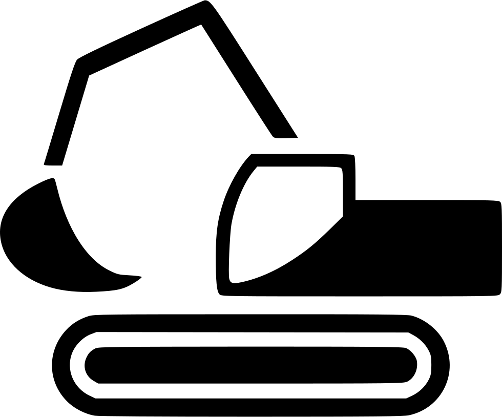 Excavator clipart svg. Png icon free download