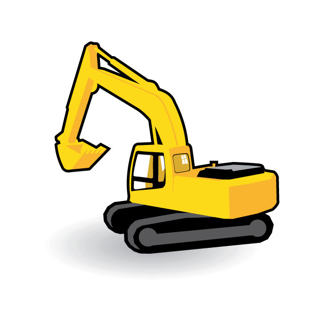 Free download best on. Excavator clipart trackhoe