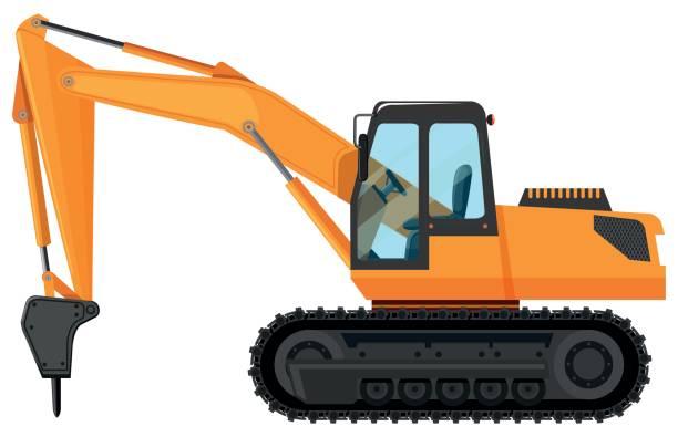 Excavator clipart tractor caterpillar. Cat free download best