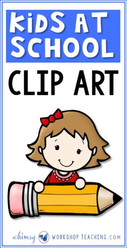 Little kids at school. Excited clipart big kid