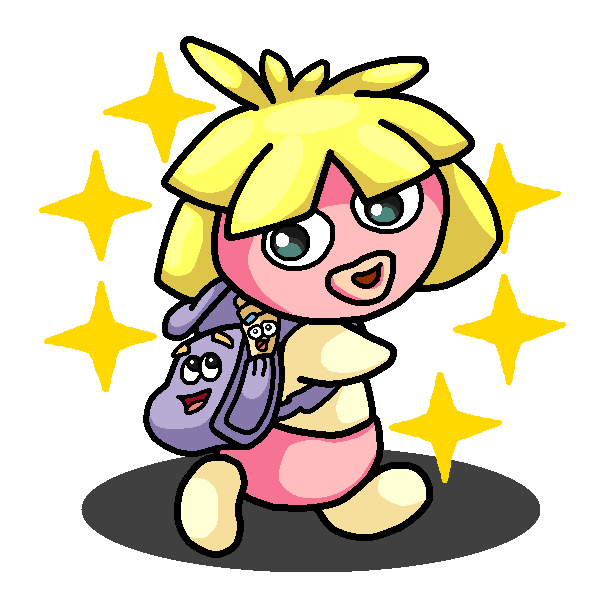 Excited clipart eager. Shiny smoochum dora the
