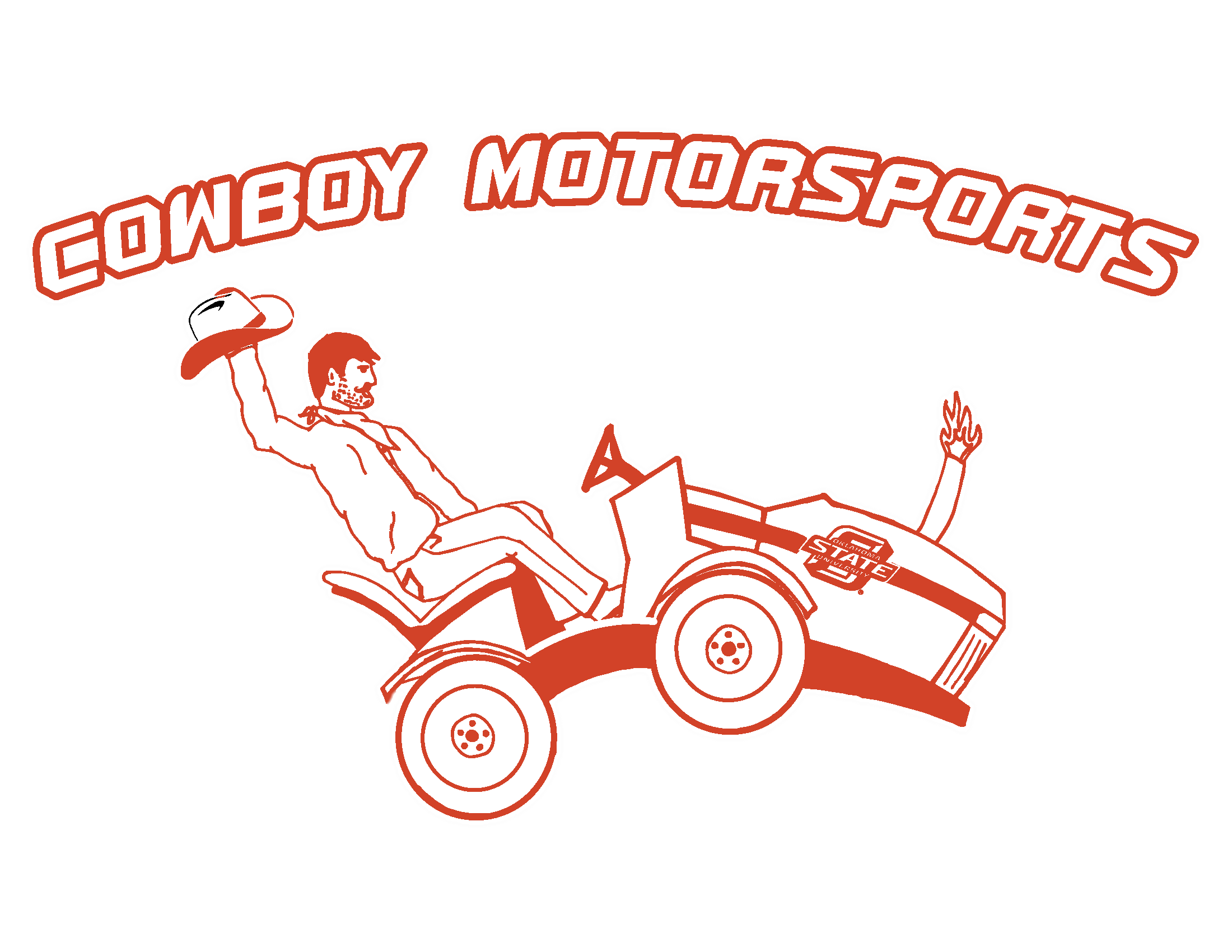 Excited clipart eager. Cowboy motorsports logo