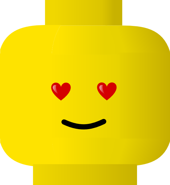 Lego clip art at. Excited clipart expression