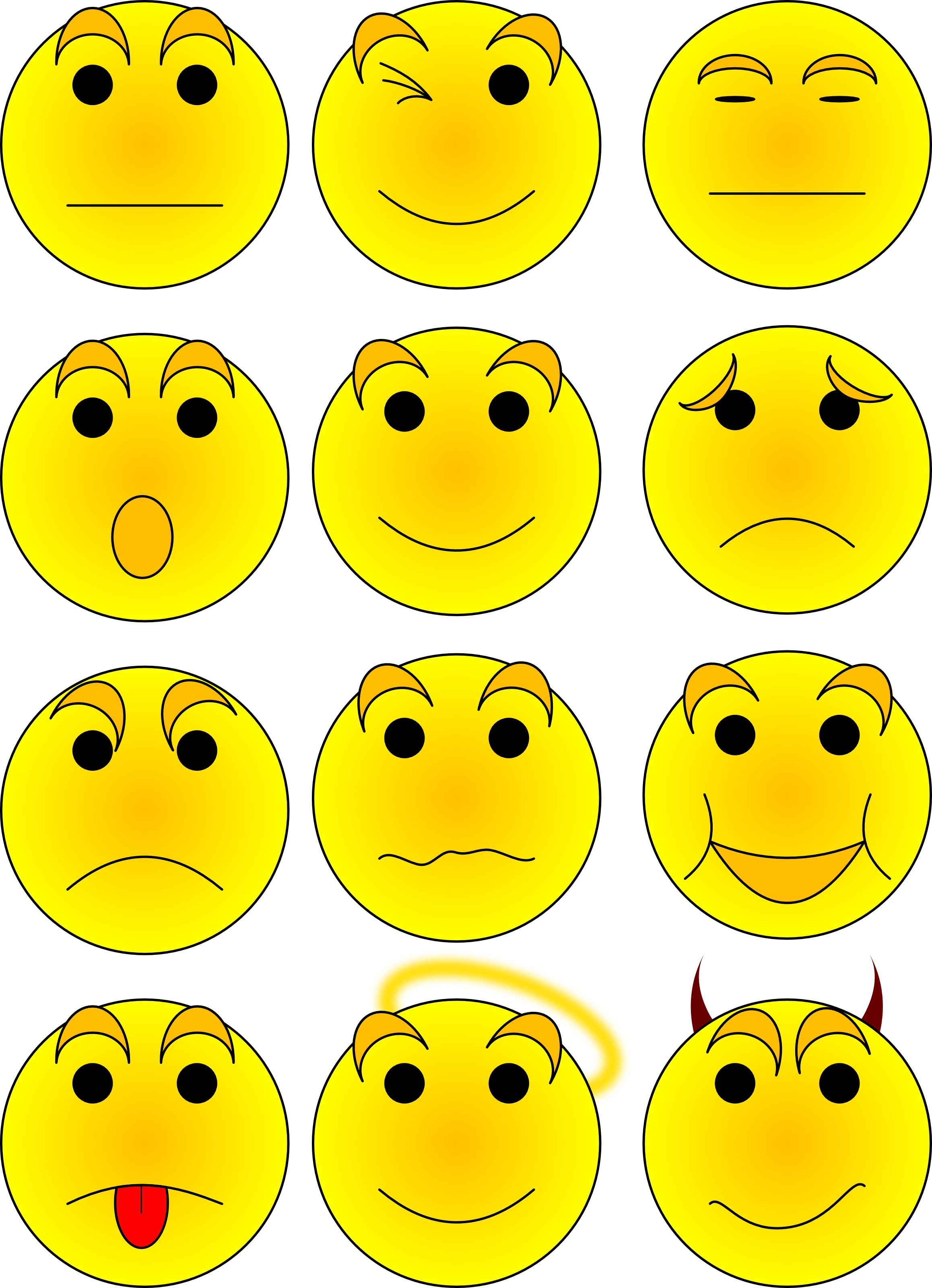 collection of high. Excited clipart expression