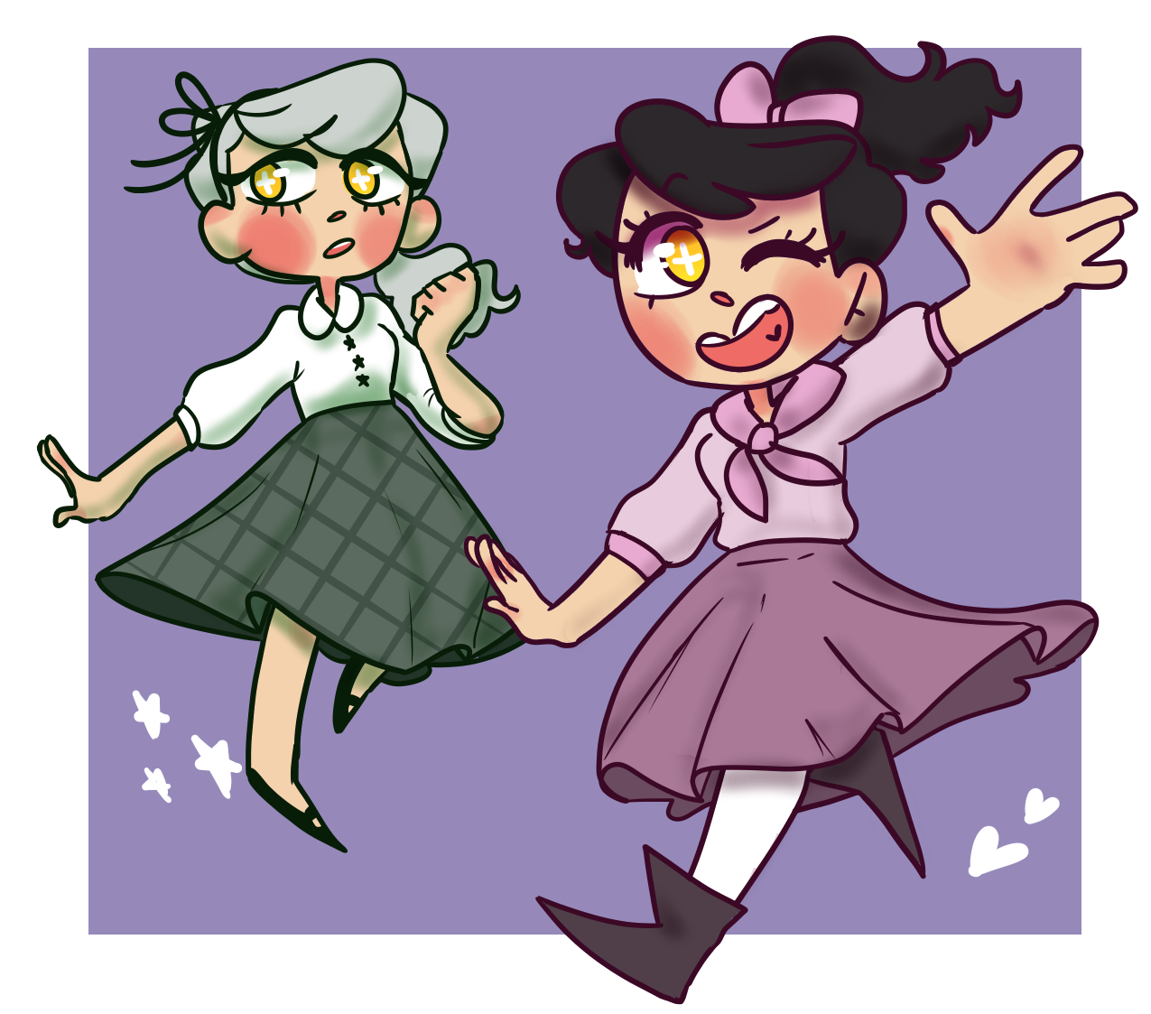 Excited clipart extroverted. Splatoon flapper au this