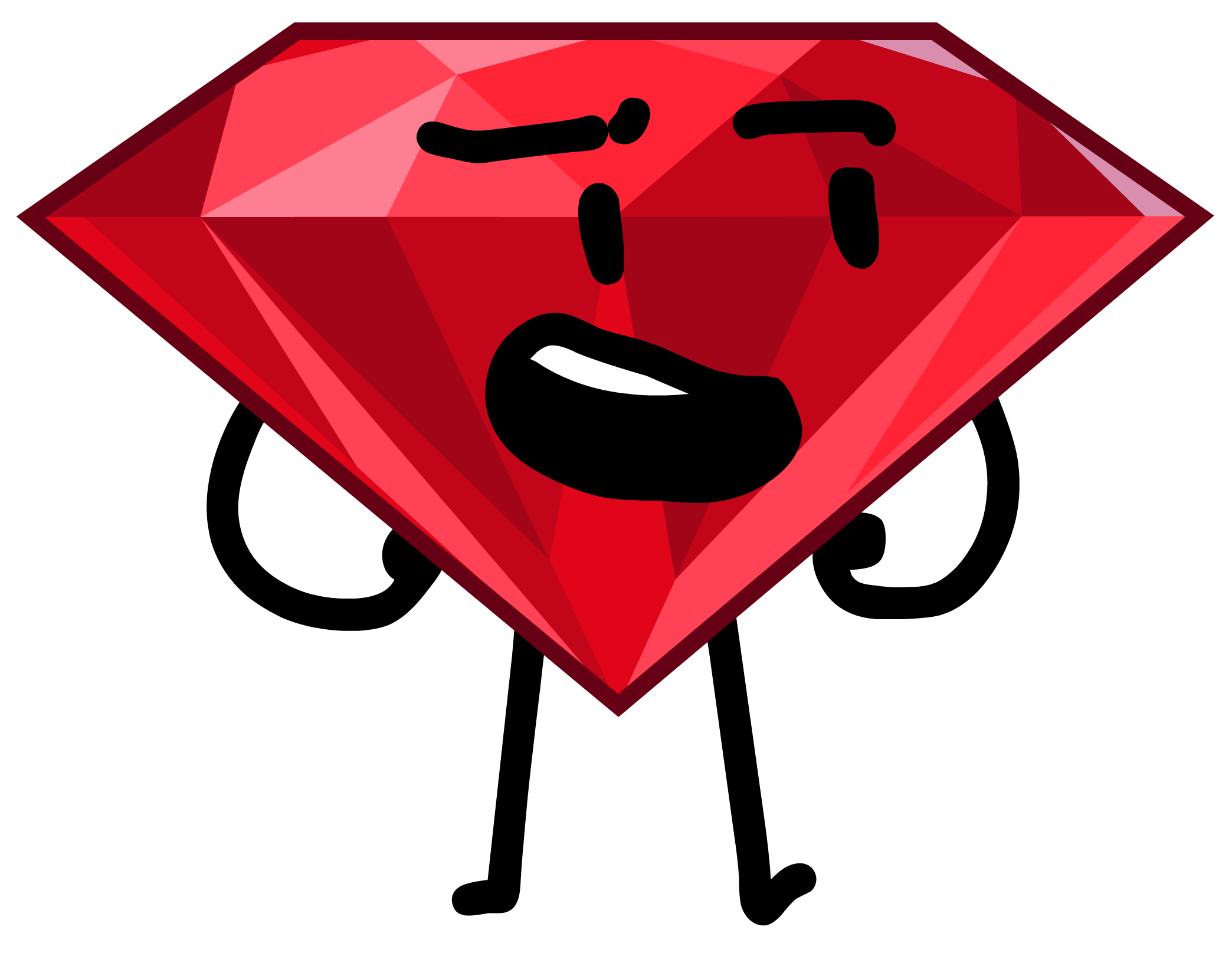 Image ruby e png. Excited clipart fortunate